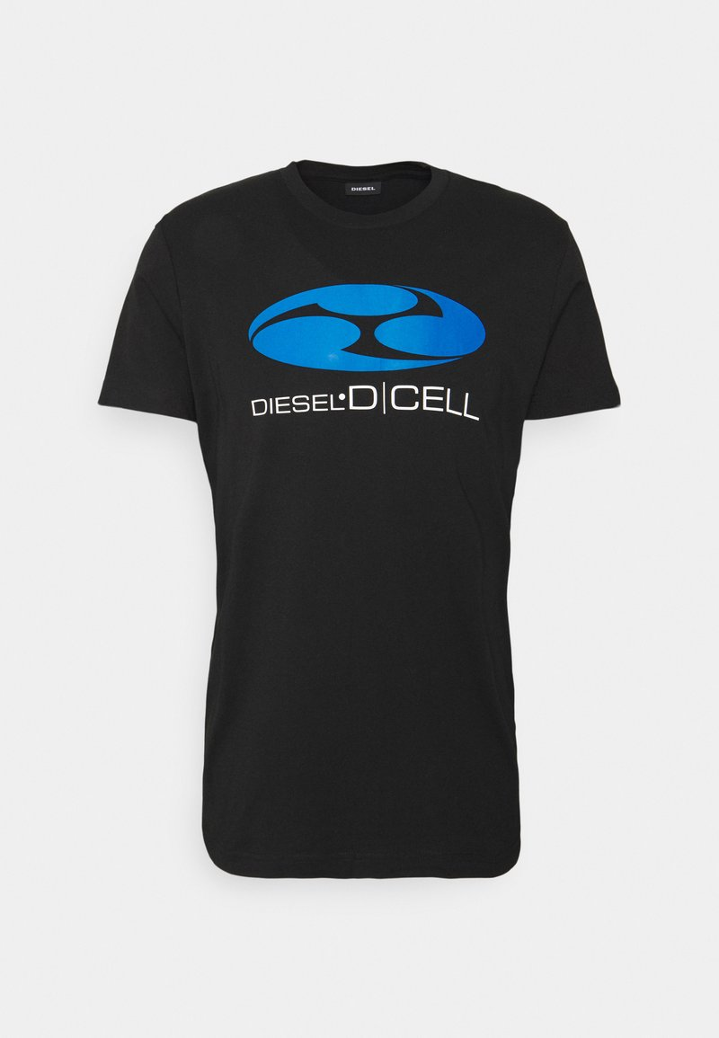 Diesel - T-DIEGOS-K40 UNISEX - T-shirt print - black