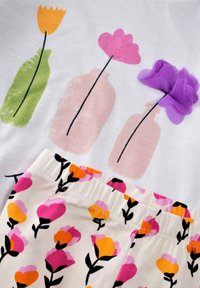 Cigit - SET - Leggings - Trousers - off white - 2
