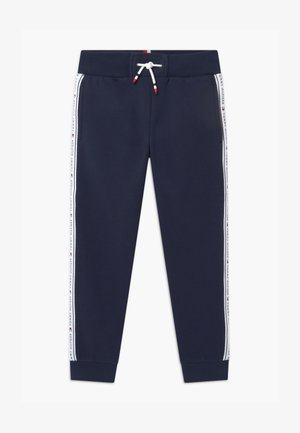 TAPE - Tracksuit bottoms - blue