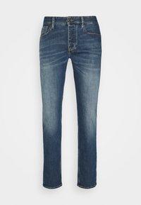 Emporio Armani - POCKETS PANT - Slim fit -farkut - blue denim - 4