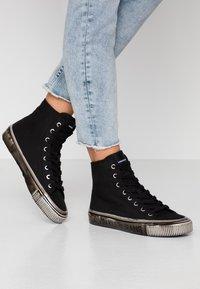 Calvin Klein Jeans - DELORIS - Sneakers high - black - 0