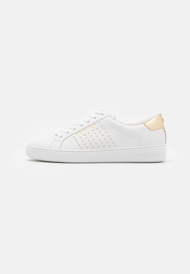 IRVING STRIPE LACE UP - Trainers - optic white
