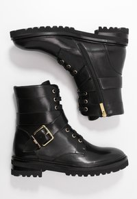 Steffen Schraut - CHAIN ROAD - Lace-up ankle boots - black - 1