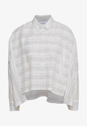 SON  - Button-down blouse - white