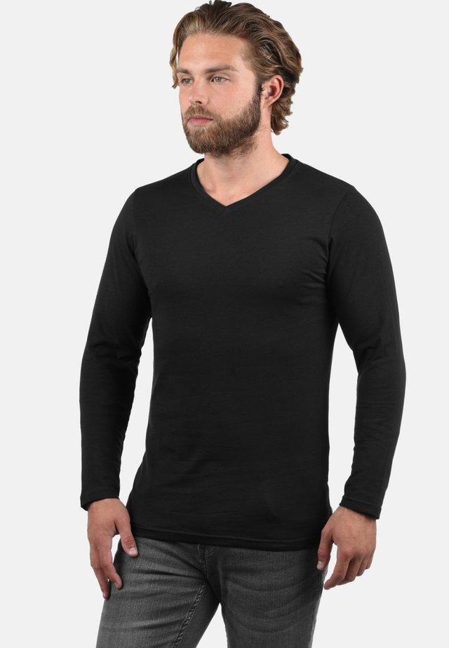 2PER PACK - Long sleeved top - black