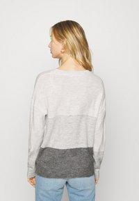JDY - JDYELANORA STRIPE - Pullover - dark grey - 2