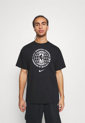 NBATEAM GLOBAL EXPLORATION TEE - Print T-shirt - black