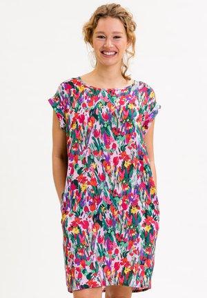 ANNABELLINA - Jersey dress - bunt  floraler print