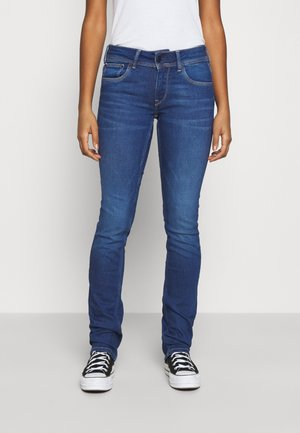 SATURN - Jeans straight leg - blue denim