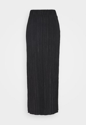 OBJTILIA LONG SKIRT  - Pencil skirt - black