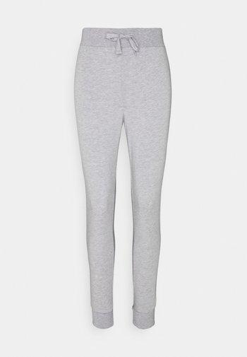Lightweight slim fit joggers - Teplákové kalhoty - mottled light grey