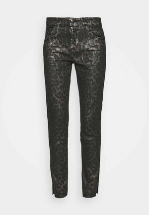 SUMNER ANIMAL COATED  - Jeans Skinny Fit - gold
