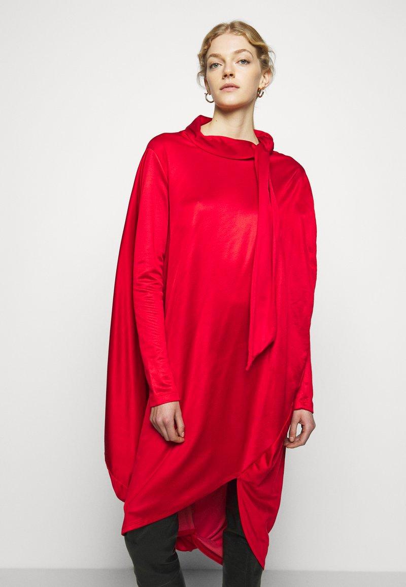 MM6 Maison Margiela - Jersey dress - red