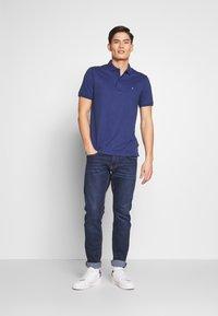 Calvin Klein Tailored - SOFT INTERLOCK SLIM - Poloshirt - blue - 1