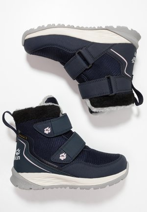 POLAR WOLF TEXAPORE MID - Winter boots - dark blue/offwhite