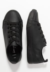 New Look Wide Fit - WIDE FIT MOGUEL - Sneakers laag - black - 3