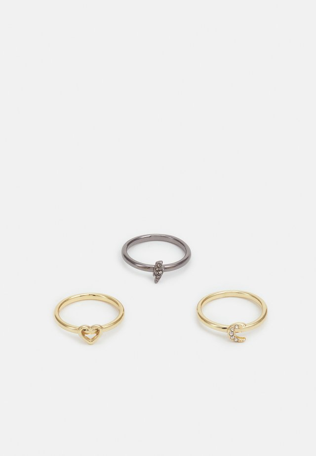 MIX N MATCH 3 PACK - Anello - shiny gold-coloured