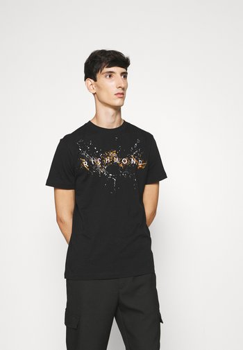 ILESANDI - Print T-shirt - black