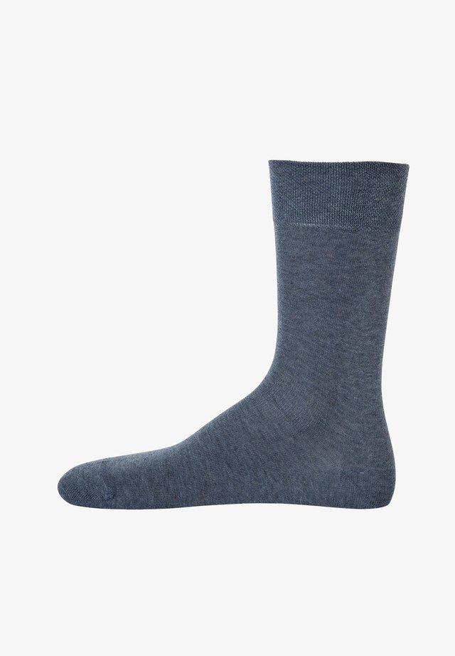 1 PAAR  - Socks - jeans melange
