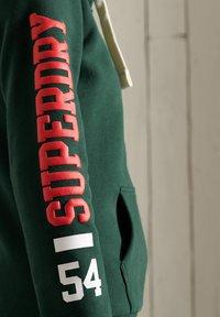 Superdry - COLLEGIATE ATHLETIC  - Zip-up sweatshirt - enamel green - 3