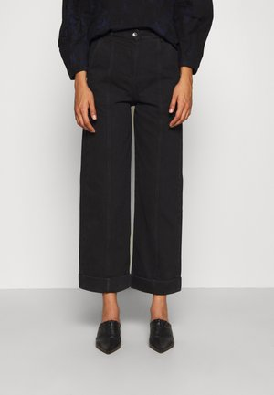 CASSATA PANTS - Straight leg jeans - black
