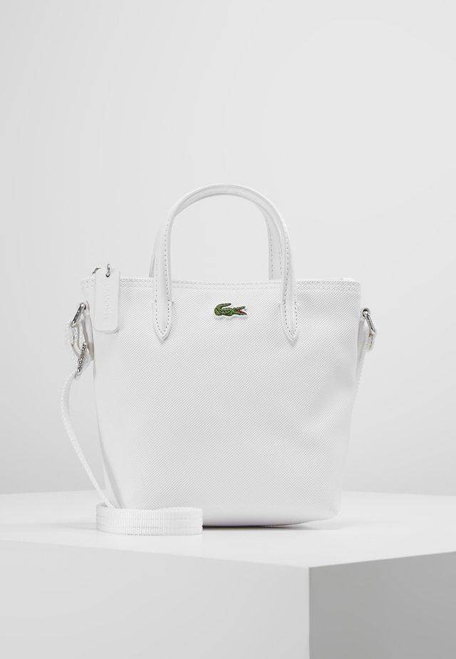 SHOPPING CROSS BAG - Handbag - bright white