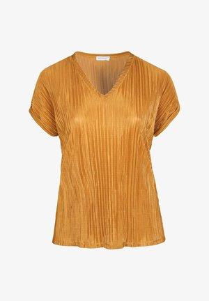 Basic T-shirt - ocher