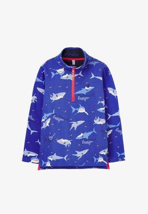 Sweatshirt - blauer hai