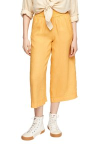 s.Oliver - Trousers - sunset yellow melange - 6