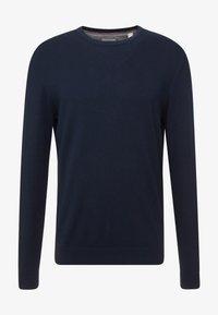 Esprit - Stickad tröja - navy - 3