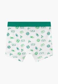 Schiesser - KIDS 2 PACK - Pants - dark blue/green/white - 1