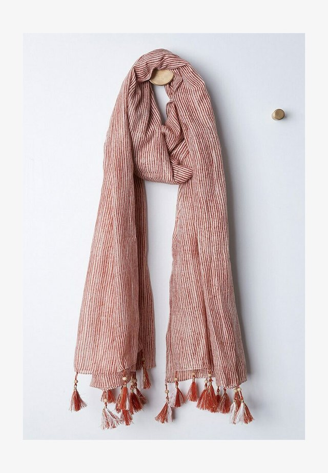 Sjaal - vieux rose