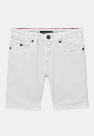 SPENCER - Denim shorts - bright white