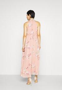 Vero Moda - VMLOVELY HALTERNECK LONG DRESS - Maxi dress - misty rose - 2