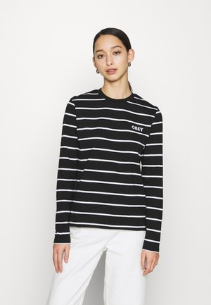 JAMES - Long sleeved top - black