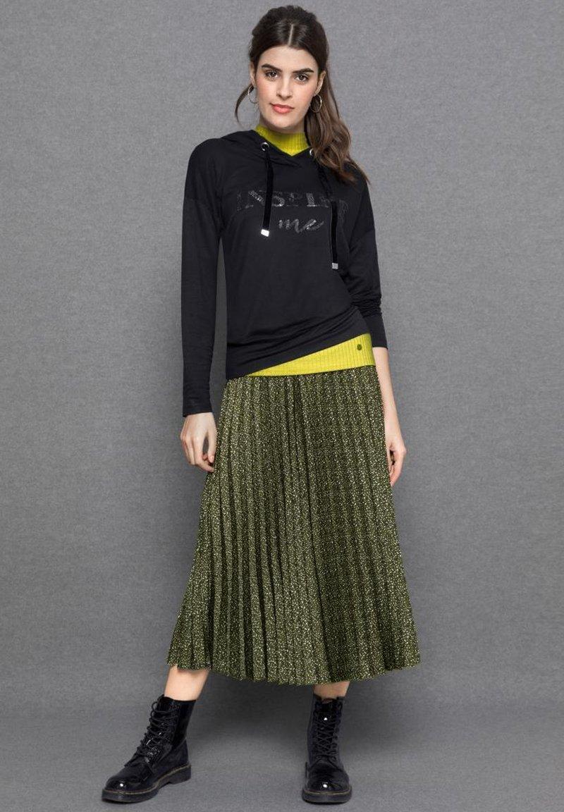 bianca - A-line skirt - green mix