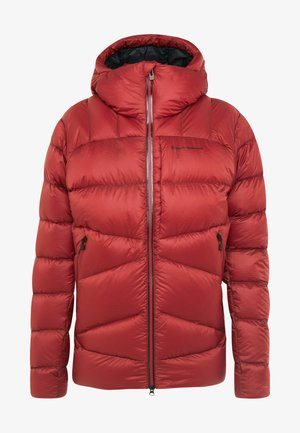 VISION DOWN - Chaqueta de plumas - red rock
