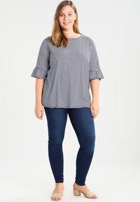 Zizzi - AMY LONG - Jeans Skinny Fit - blue denim - 1