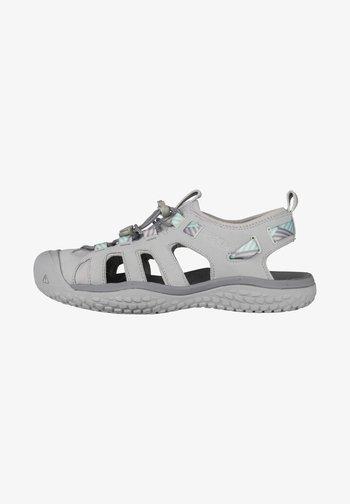 SOLR - Walking sandals - light grey