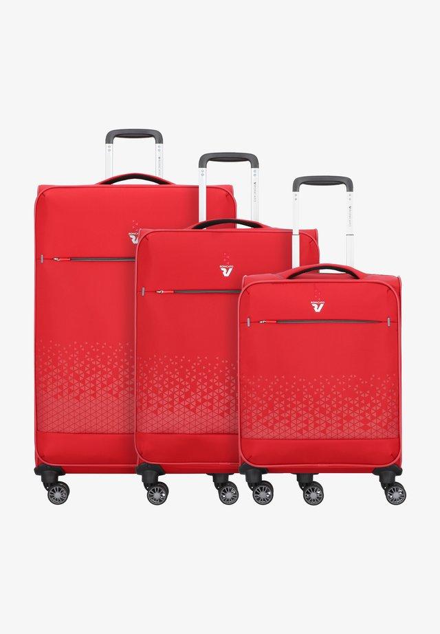 CROSSLITE  - Luggage set - rosso
