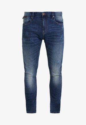 LEAR - Jeans Tapered Fit - denim blue