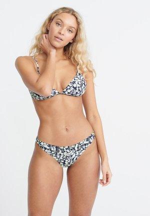 SUPERDRY HARPER TRI BIKINI TOP - Bikiniunderdel - navy print