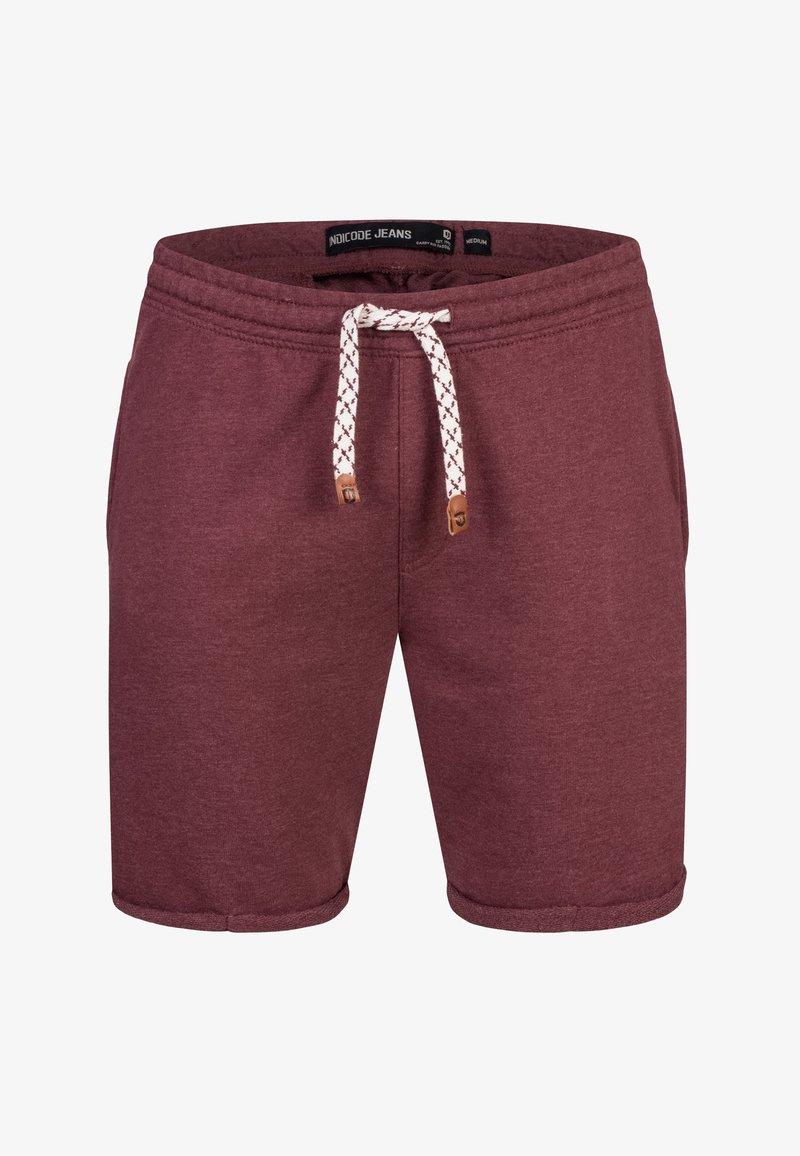 INDICODE JEANS ALDRICH - Shorts - grey/grau UPwjOL