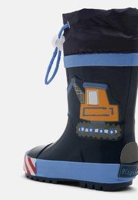 Playshoes - BAUSTELLE - Wellies - bleu - 4
