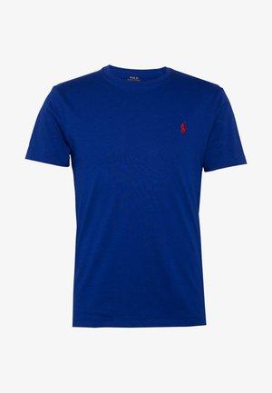 CUSTOM SLIM FIT JERSEY CREWNECK T-SHIRT - Basic T-shirt - royal