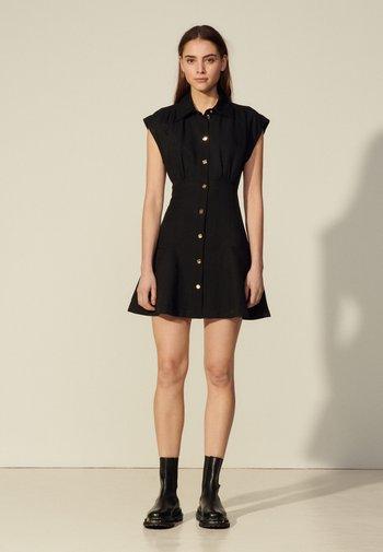 JOSEPHINE - Shirt dress - noir