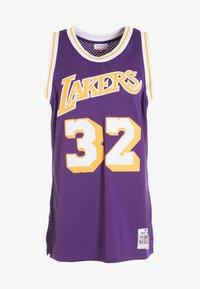 Mitchell & Ness - NBA SWINGMAN LA LAKERS MAGIC JOHNSON - T-shirt de sport - purple - 4