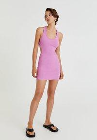 PULL&BEAR - Shift dress - pink - 1