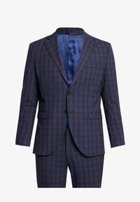 Selected Homme - SLHSLIM MYLOLOGAN SUIT - Oblek - navy blue/grey - 9