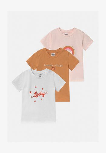 JAMIE 3 PACK - Print T-shirt - multi-coloured